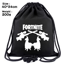 Fortnite drawstring backpack bag