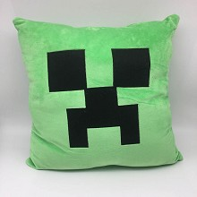 Minecraft plush two-sided pillow 35*35CM