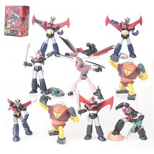 Mazinger figures set(10pcs a set)