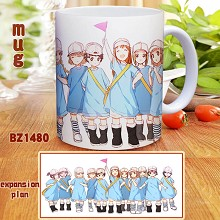 Hataraku Saibou Cells At Work anime cup mug