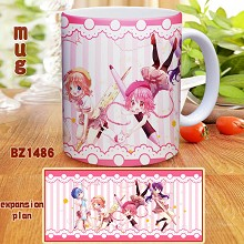 Comic girls anime cup mug