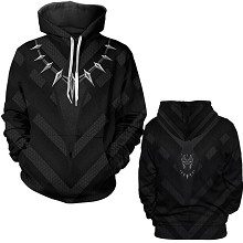 The Avengers Black Panther 3D printing hoodie sweater cloth
