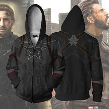 The Avengers Captain America 3D printing hoodie sw...
