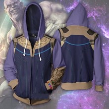 The Avengers Thanos 3D printing hoodie sweater clo...