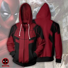 The Avengers Deadpool 3D printing hoodie sweater cloth