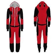 Deadpool Spider Man anime sleeper suits pyjamas hoodie