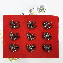Warcraft rings set(9pcs a set)