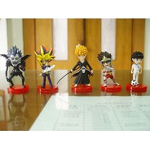 The anime cartoon figures set(5pcs a set)