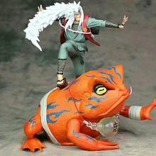 Naruto Jiraiya and Gama-Bunta anime figures set(2pcs a set)