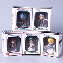 Kuroko no Basket anime figures set(5pcs a set)