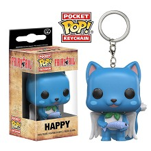 Funko POP Fairy Tail figure doll key chain