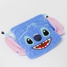Stitch anime plush drawstring bag