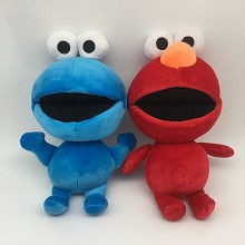12inches Sesame Street anime plush dolls set(2pcs ...