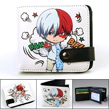 My Hero Academia Todoroki Shoto anime wallet