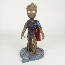 Guardians of the Galaxy groot cos Thor resin figur...