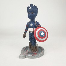 Guardians of the Galaxy groot cos Captain America ...
