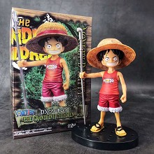 One Piece child Luffy anime figure