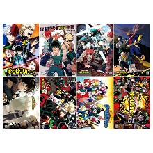 My Hero Academia anime posters set(8pcs a set)