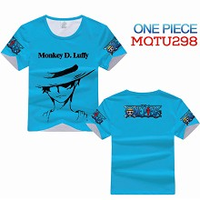 One Piece anime modal t-shirt