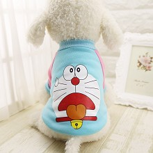 Doraemon anime pet dog clothes hoodie