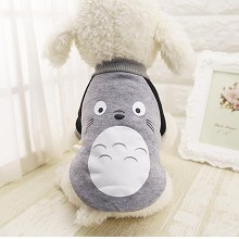 Totoro anime pet dog clothes hoodie