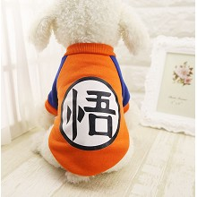 Dragon Ball anime pet dog clothes hoodie