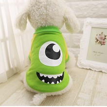 Monsters University anime pet dog clothes hoodie