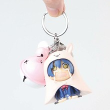 Lovelive Sonoda Umi figure doll key chain