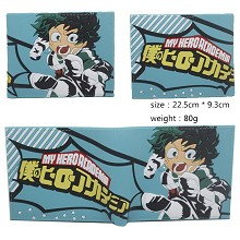 My Hero Academia anime silicone wallet