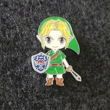 The Legend of Zelda brooch pin