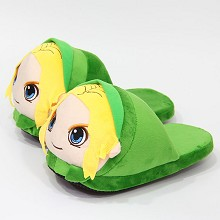 The Legend of Zelda plush shoes slippers a pair 28...