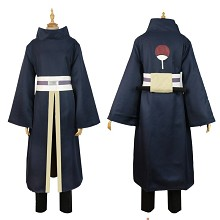Naruto Uchiha Obito anime cosplay cloth costume dress a set