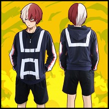 My Hero Academia anime cotton thick hoodie cloth
