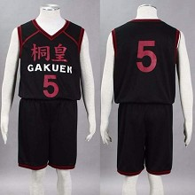 Kuroko no Basket anime basketball clothes costume