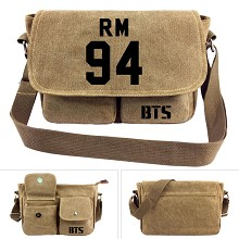 BTS 94RM canvas satchel shoulder bag