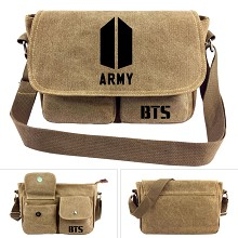 BTS ARMY canvas satchel shoulder bag
