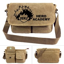 My Hero Academia anime canvas satchel shoulder bag