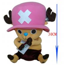 One piece chopper anime plush doll
