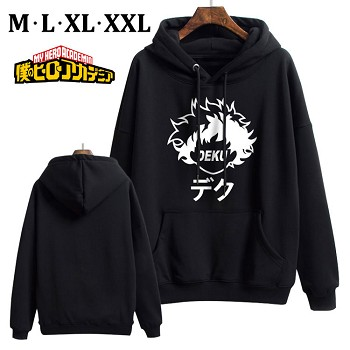 My Hero Academia anime thick cotton hoodie cloth costume
