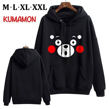 Kumamon anime thick cotton hoodie cloth costume