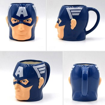 The Avengers Captain America ceramic cup mug