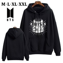 BTS thick cotton hoodie cloth costume