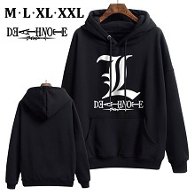 Death Note anime thick cotton hoodie cloth costume