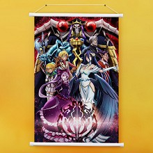 Overlord anime wall scroll