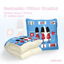 The other anime pattern customize pillow blanket c...