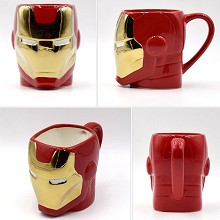 The Avengers Iron Man ceramic cup mug