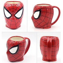 The Avengers Spider Man ceramic cup mug