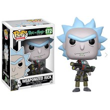 FUNKO POP 172 Rick and Morty figure
