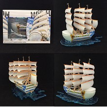 One Piece Edward Newgate ship boat anime model figure