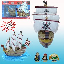 One Piece Shanks ship boat anime model figure